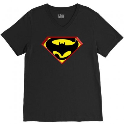 Superbat V-neck Tee Designed By Broliant