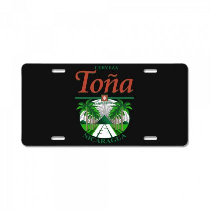Tona Beer License Plate Designed By Broliant