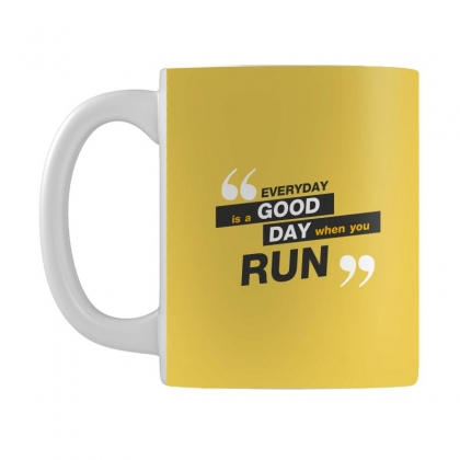 Everday Is A Good Day You Run Mug Designed By Tudtoojung