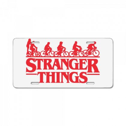 Stranger Things 3 License Plate Designed By Toweroflandrose