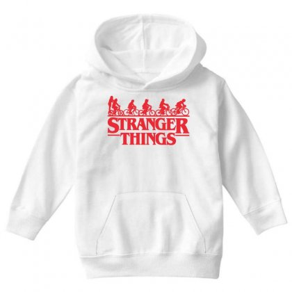 Stranger Things 3 Youth Hoodie Designed By Toweroflandrose