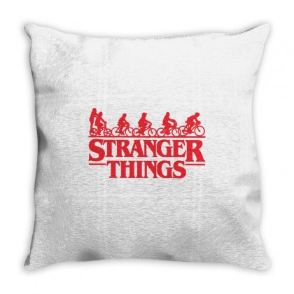 Stranger Things 3 Throw Pillow Designed By Toweroflandrose