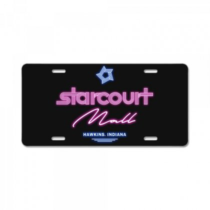 Starcourt Mall License Plate Designed By Toweroflandrose