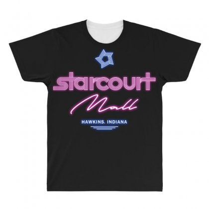 Starcourt Mall All Over Men's T-shirt Designed By Toweroflandrose