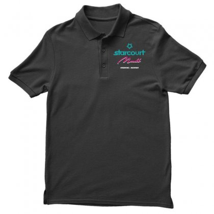Starcourt Mall Stranger Things Polo Shirt Designed By Toweroflandrose
