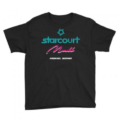 Starcourt Mall Stranger Things Youth Tee Designed By Toweroflandrose