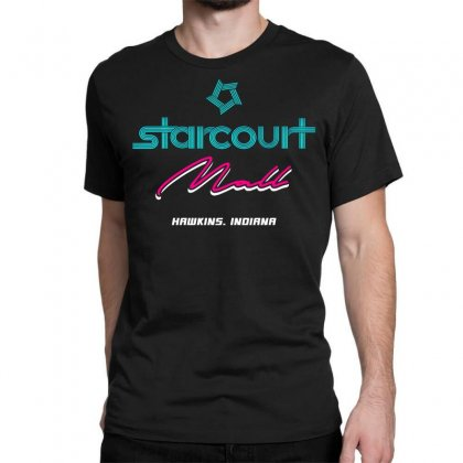 Starcourt Mall Stranger Things Classic T-shirt Designed By Toweroflandrose