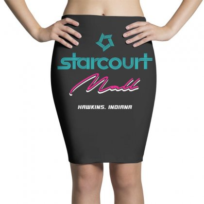 Starcourt Mall Stranger Things Pencil Skirts Designed By Toweroflandrose
