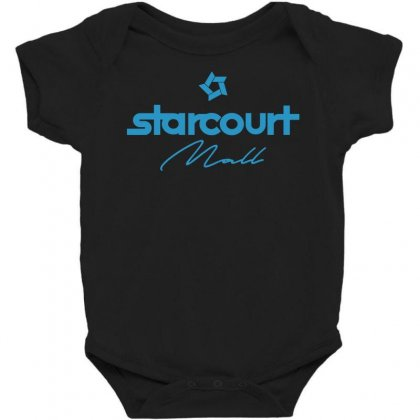 Starcourt Mall Solid Baby Bodysuit Designed By Toweroflandrose