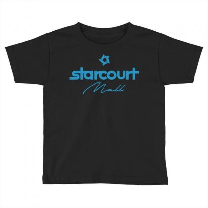 Starcourt Mall Solid Toddler T-shirt Designed By Toweroflandrose