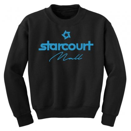 Starcourt Mall Solid Youth Sweatshirt Designed By Toweroflandrose