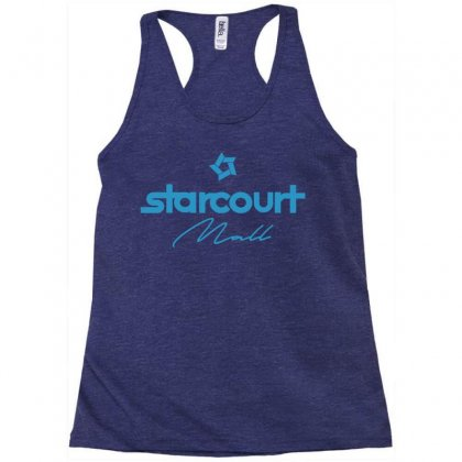 Starcourt Mall Solid Racerback Tank Designed By Toweroflandrose