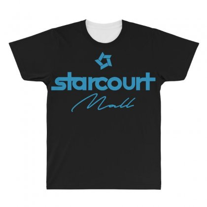 Starcourt Mall Solid All Over Men's T-shirt Designed By Toweroflandrose