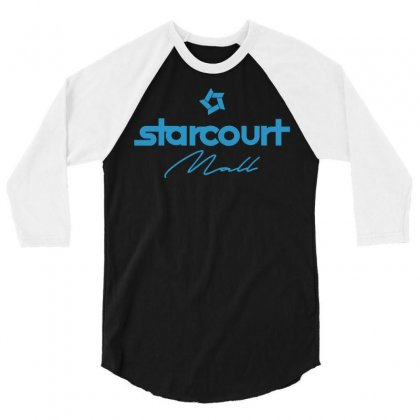 Starcourt Mall Solid 3/4 Sleeve Shirt Designed By Toweroflandrose