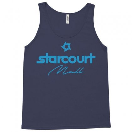 Starcourt Mall Solid Tank Top Designed By Toweroflandrose