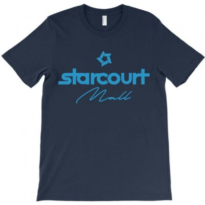 Starcourt Mall Solid T-shirt Designed By Toweroflandrose