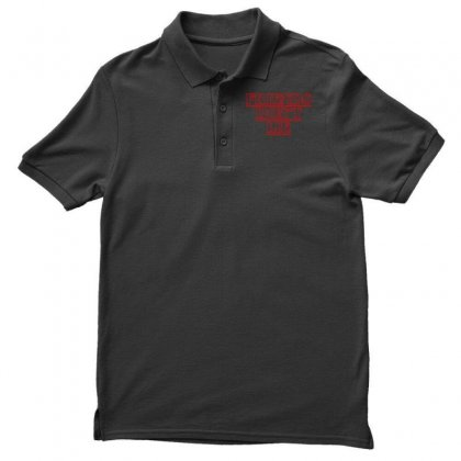 Friends Dont Lie Outline Polo Shirt Designed By Toweroflandrose