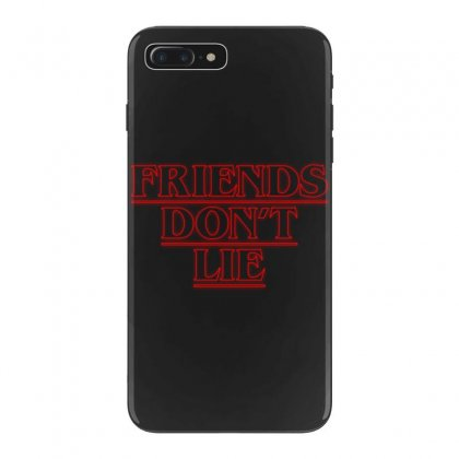 Friends Dont Lie Outline Iphone 7 Plus Case Designed By Toweroflandrose