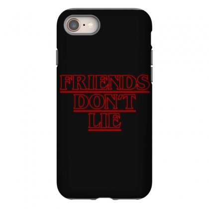 Friends Dont Lie Outline Iphone 8 Case Designed By Toweroflandrose
