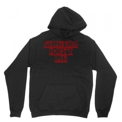Friends Dont Lie Outline Unisex Hoodie Designed By Toweroflandrose