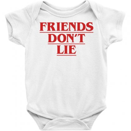 Friends Dont Lie Baby Bodysuit Designed By Toweroflandrose