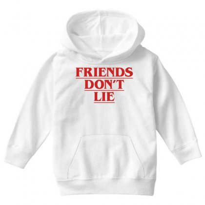 Friends Dont Lie Youth Hoodie Designed By Toweroflandrose