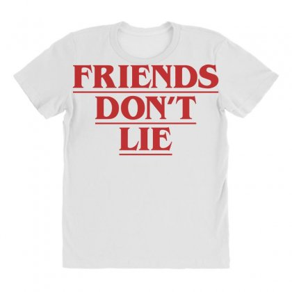Friends Dont Lie All Over Women's T-shirt Designed By Toweroflandrose