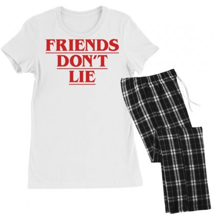 Friends Dont Lie Women's Pajamas Set Designed By Toweroflandrose
