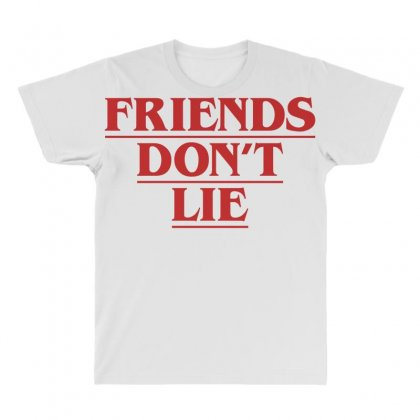 Friends Dont Lie All Over Men's T-shirt Designed By Toweroflandrose