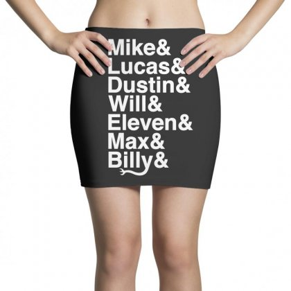 Mike Lucas Dustin Will Eleven Max Billy Mini Skirts Designed By Toweroflandrose