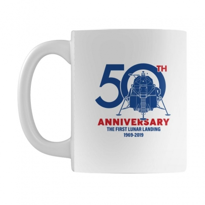 50th Anniversary The First Lunar Landing Mug Designed By Toweroflandrose