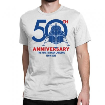 50th Anniversary The First Lunar Landing Classic T-shirt Designed By Toweroflandrose