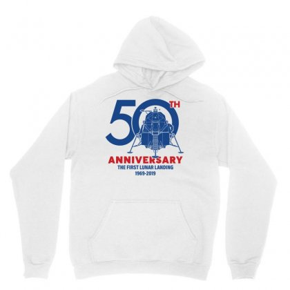 50th Anniversary The First Lunar Landing Unisex Hoodie Designed By Toweroflandrose