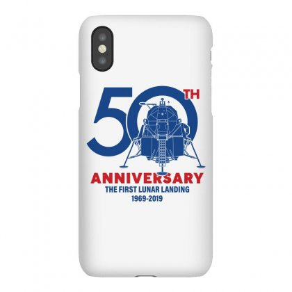50th Anniversary The First Lunar Landing Iphonex Case Designed By Toweroflandrose