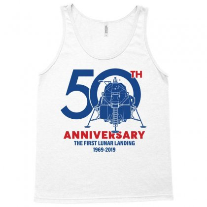 50th Anniversary The First Lunar Landing Tank Top Designed By Toweroflandrose