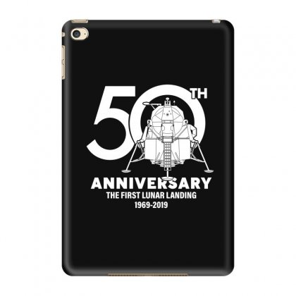 50th Anniversary The First Lunar Landing Ipad Mini 4 Case Designed By Toweroflandrose