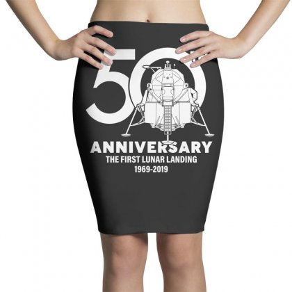 50th Anniversary The First Lunar Landing Pencil Skirts Designed By Toweroflandrose