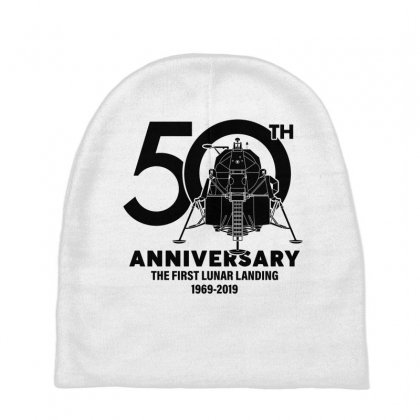 50th Anniversary The First Lunar Landing Baby Beanies Designed By Toweroflandrose