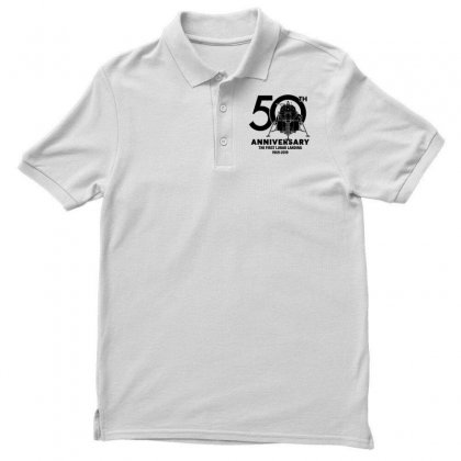 50th Anniversary The First Lunar Landing Polo Shirt Designed By Toweroflandrose