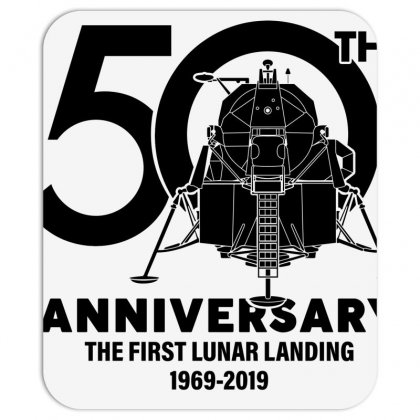 50th Anniversary The First Lunar Landing Mousepad Designed By Toweroflandrose