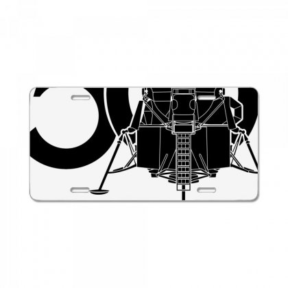 50th Anniversary The First Lunar Landing License Plate Designed By Toweroflandrose