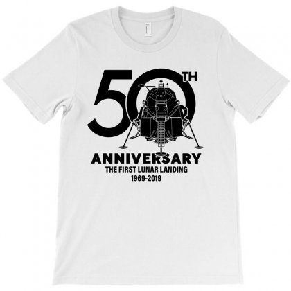 50th Anniversary The First Lunar Landing T-shirt Designed By Toweroflandrose