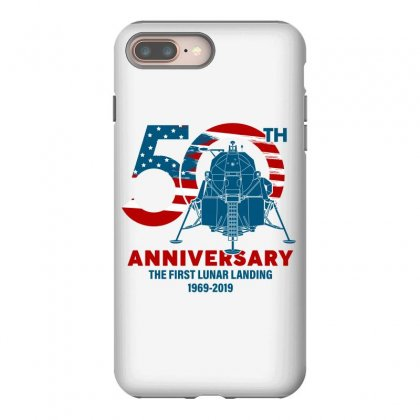 50th Anniversary The First Lunar Landing Iphone 8 Plus Case Designed By Toweroflandrose