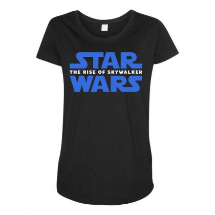 Star Wars The Rise Of Skywalker Maternity Scoop Neck T-shirt Designed By Toweroflandrose