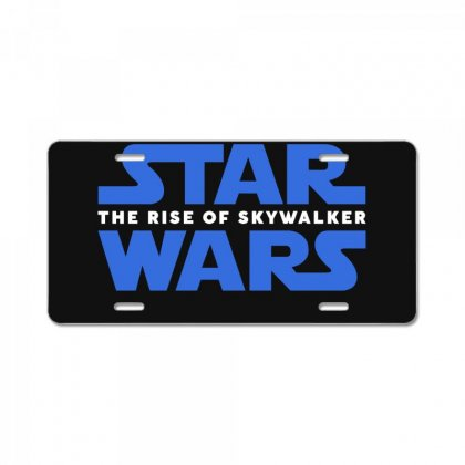 Star Wars The Rise Of Skywalker License Plate Designed By Toweroflandrose