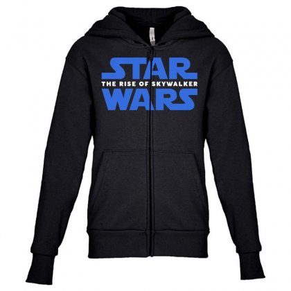 Star Wars The Rise Of Skywalker Youth Zipper Hoodie Designed By Toweroflandrose