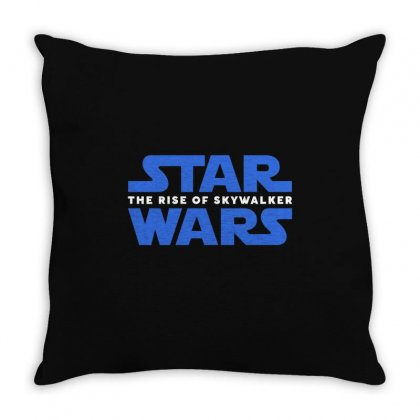 Star Wars The Rise Of Skywalker Throw Pillow Designed By Toweroflandrose
