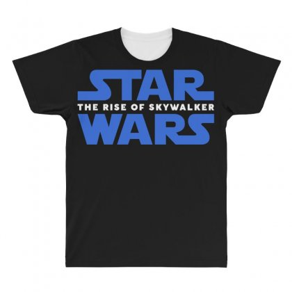 Star Wars The Rise Of Skywalker All Over Men's T-shirt Designed By Toweroflandrose
