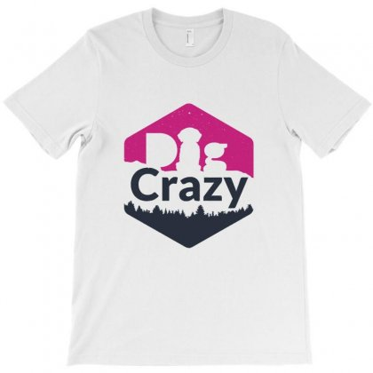 Dog Crazy T-shirt Designed By Teesclouds