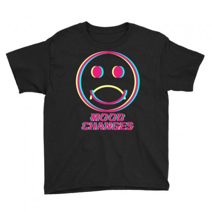 Mood Changes Youth Tee Designed By Kleverolivier